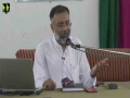 [Seminar : Mahe Rajab] Speech: Agha Shahid Raza Kashfi | Al-Mohsin Hall, Karachi - Urdu