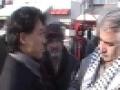 Gaza Protest- NDP John Chan with Najah at PM Office - English