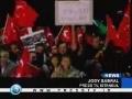 Turks give Erdogan heros welcome - Generals issue warning - English