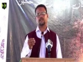 [Youm-e-Hussain as] Prof. Zahid Ali Zahidi - Federal Urdu University karachi - Muharram 1438/2016 - Urdu