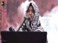 [Youm-e-Hussain as] Khizra Batool - Jamia Karachi - Muharram 1438/2016 - Urdu