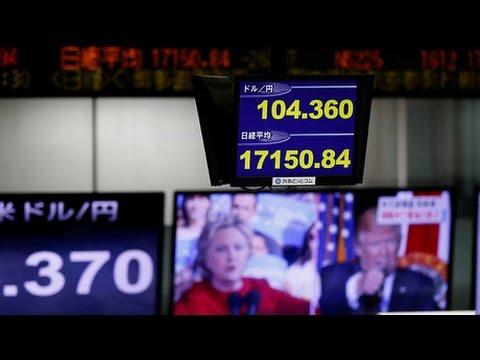 [09 November 2016] Trump\'s presidential victory shakes global markets   Press TV English