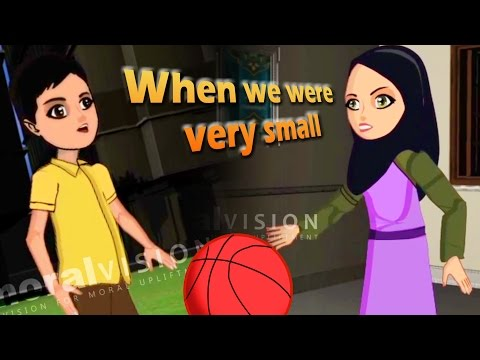 Abdul Bari Muslims Islamic Cartoon for children - Abdul Bari at 4 years without Bismillah- English