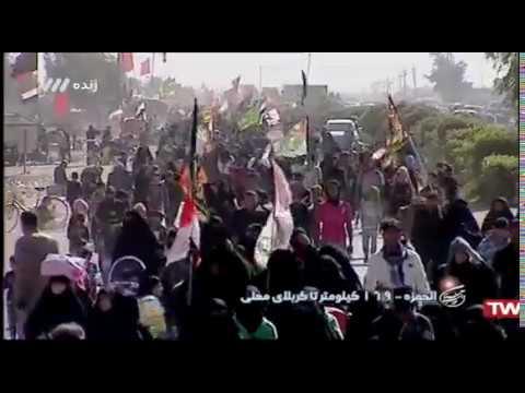45 - پیاده روی اربعین الحمزه - ۱۶۹ کیلومتر تا کربلا - بخش ۳ - Farsi