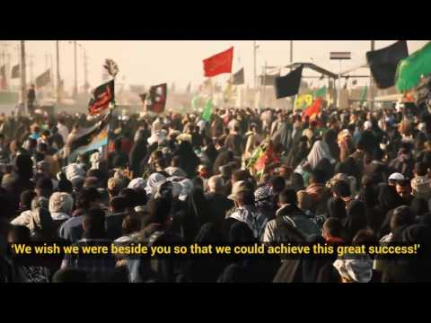 Ayatollah Khamenei: We wish we were beside you on Arbaeen - Farsi sub English
