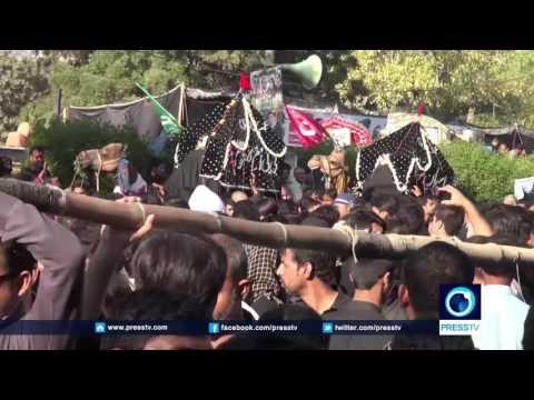 [22 November 2016] Karachi , Kashmir marks Arbaeen with large processions | Press TV English