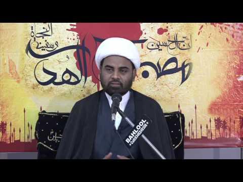 [02] Sulh Aur Jung Islam Ki Nazar Me - 22 Safar 1438 - Moulana Akhtar Abbas Jaun