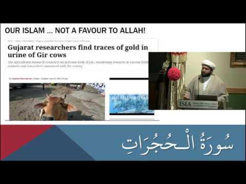 Commentary of Surah Al-Hujurat Part 13 - English