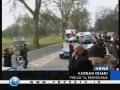 UK Gaza aid convoy reaches France - 15Feb09 - English