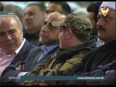 السيد نصرالله : الجدار على الحدود اللبنانية الفلسطينية دليل اعترا