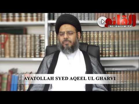 Ayatullah Aqeel ul Gharvi about Shaheed Ustaad Sibt e Jafar (ra) - HD view