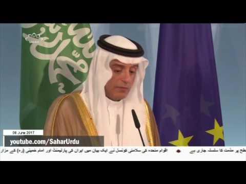 [08Jun2017]حماس کےخلاف سعودی وزیرخارجہ کےبیان پرفلسطینی گروہوںکاردعم�