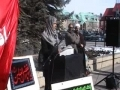 Imam Hussain Rally - Short Speech by Rabia - English