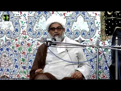 [مجلس عزا یوم انہدام جنت البقیع]  H.I Raja Nasir Abbas - 02 July 2017 - Urdu