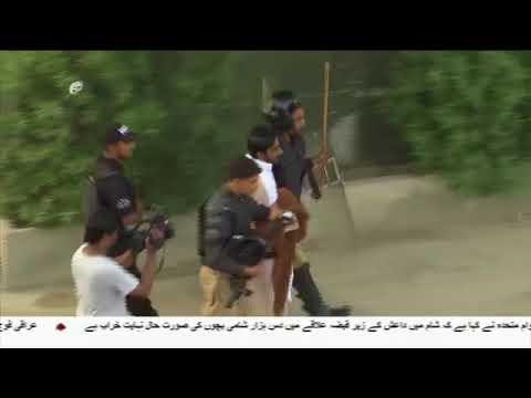 [27Aug2017] امریکا مخالف ریلی کے شرکا پر کراچی پولیس کا تشدد ا - Urdu