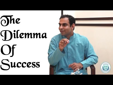 The Dilemma of Success | Qasim Ali Shah | Urdu
