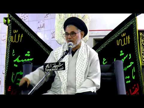 [08] Topic: Seerat-e-Anbiya - سیرت انبیاء  | H.I Hasan Zafar Naqvi - Muharram 1439/2017 - Urdu