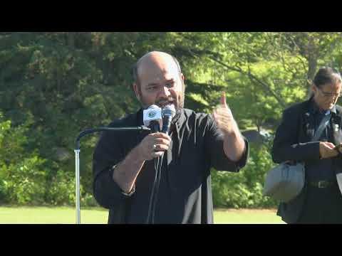 Majlis - Toronto Ashura Day Procession 2017, Moulana Hussain Sherizi Urdu