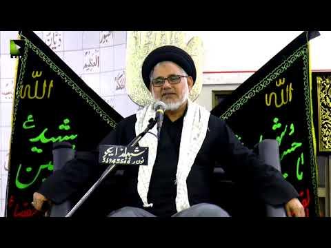 [09] Topic: Seerat-e-Anbiya - سیرت انبیاء  | H.I Hasan Zafar Naqvi - Muharram 1439/2017 - Urdu