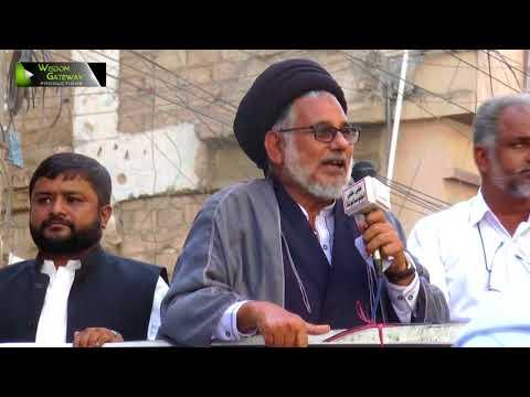 [جیل بھرو تحریک] Khitab & Griftari : H.I Syed Hasan Zafar Naqvi | 06 October 2017 - Urdu