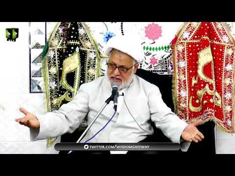 [05] Topic: Maarfat-e-Imam (as) | H.I Ghulam Abbas Raesi - Muharram 1439/2017 - Urdu