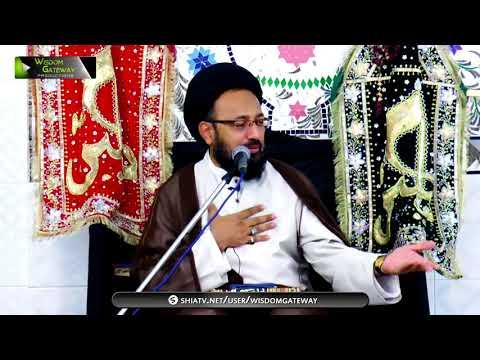[02] Topic: خونِ امام حسینؑ کے انتقام کی تیاری | H.I Sadiq Raza Taqvi - Muharram 1439/2017 -