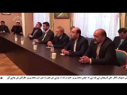 [16Oct2017]ایران کی پارلیمنٹ کے اسپیکر سے عمان و کویت کے اسپیکروں کی مل�