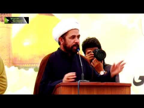 [Youm-e-Hussain as] Speech: Moulana Ghulam Abbas Waziri | Jamia Karachi KU | Muharram 1439/2017 - Urdu