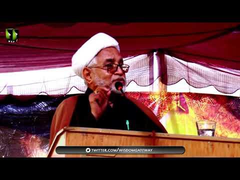 [Youm-e-Hussain as] Speech: H.I Mirza Yousuf Hussain | Federal Urdu University Karachi | Muharram 1439/2017 - Urdu