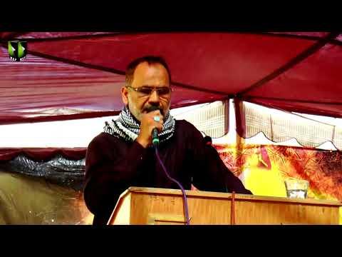 [Youm-e-Hussain as] Br. Ali Deep Rizvi | Federal Urdu University Karachi | Muharram 1439/2017 - Urdu