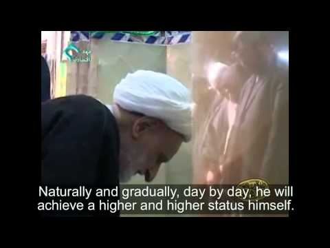 [Clip] Ayatollah Bahjat responds to Questions on Spiritual Elevation - Farsi sub English
