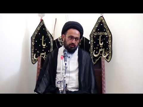 [2] Topic: مقصد تخلیق انسان | H.I Sadiq Raza Taqvi - Muharram 1439/2017 - Urdu