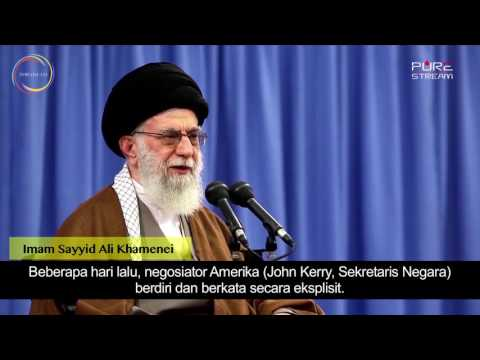[Clip] Permusuhan Berdasar Dendam atau Logika | Imam Sayyid Ali Khamenei - Farsi sub Malay
