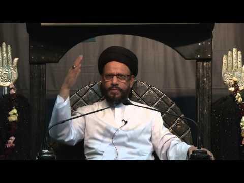 06 Majlis Ashra e Zainabiya Safar 1436 Hijari 2014 By Allama Syed Mohammad Zaki Baqri - Urdu