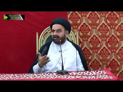 [جشن صادقین   Jashne Sadiqain] Speech: Moulana Muhammad Ali Naqvi   Rabi Ul Awal 1439/2017 - Urdu