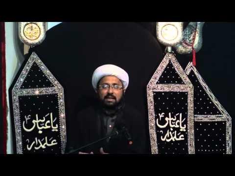 Majlis 4th Moharram 1437/2015 Janab-E-Habib Ibn-E-Mazahir By Molana Mohammad Irfan - Urdu