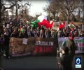 [17 December 2017] Video_ Pro-Palestine activists rally near White House in Washington - English