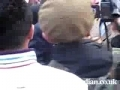 Video of police assault on Ian Tomlinson who died at the London G20 protest-English