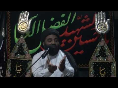 Majlis Eve of 18 Safarul Muzzafar 1438 Tazeem-e-Shuair aur Ahdaaf-e-Karbala By H.I Moulana Syed Kazim Abbas Naqvi - Urdu