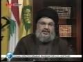 Sayyed Hassan Nasrallah Full Speech  - 10th April 09 - English