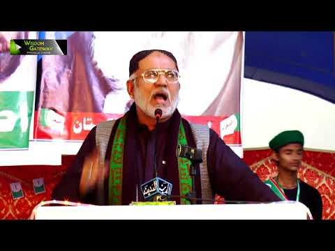 [Youm-e-Sadiqain] Janab Ikhlaaq Ahmed | Mahdaviyat Muhafiz-e-Islam Convention 2017-ASO Pak - Urdu
