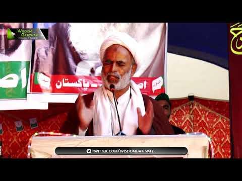 [Youm-e-Sadiqain] Moulana Raza Mohammad Saeedi | Mahdaviyat Muhafiz-e-Islam Convention 2017-ASO Pak - Sindhi