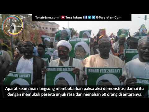 [Clip] Aksi Protes Umat Islam Nigeria Memprotes Penahanan Syeikh Ibrahim Zakzaky - Malay