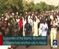 [13 January 2018] Nigerian demonstrators demand release of Sheikh Zakzaky - English