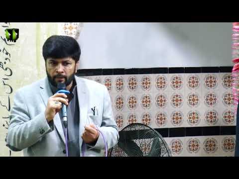 [Speech] Janab Ali Hussain | Barsi Shouda-e-Wahdat | 11 January 2018 - Urdu