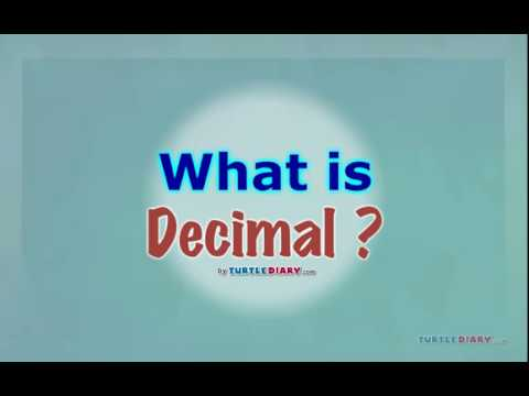 [Educational Videos] What is Decimal? - English