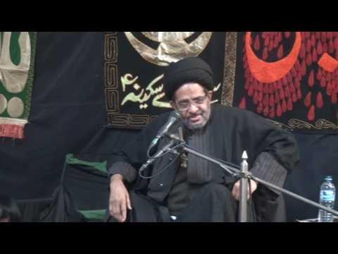 Majlis 28th Safar 2016 By Allama Syed Razi Jaffar Naqvi at Nasira Abbad Multan - Urdu