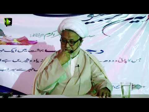 Topic : Wilayat-e-Faqihi | Speech :  H.I Moulana Ghulam Abbas Raesi - 30 March 2018 - Urdu
