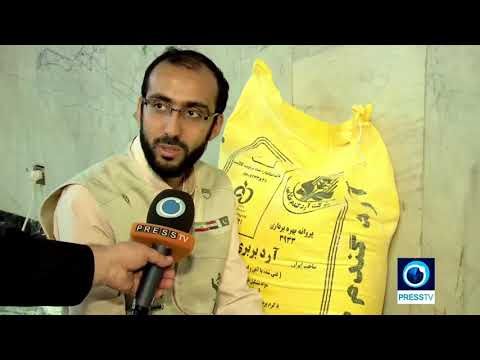 [10 April 18] Iranian and Pakistani aid groups send relief supplies to Syria - English
