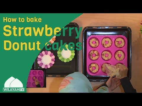 Cooking Recipe - Strawberry Donut - English